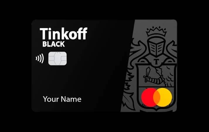 Дебетовая карта Tinkoff Black Мир